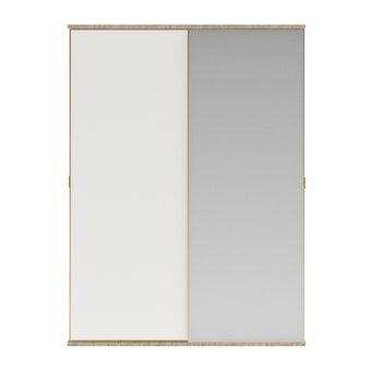 ตู้เสื้อผ้า ขนาด 180 ซม. รุ่น Wardrobe Prime สีขาว01
