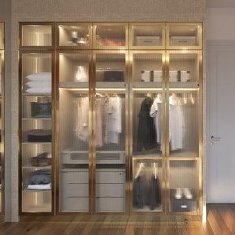 ตู้เสื้อผ้า ขนาด 250 ซม. รุ่น Wardrobe Plus01