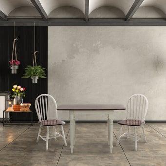 ชุดโต๊ะอาหาร รุ่น Gamic สีขาว01