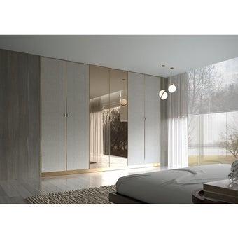 ตู้เสื้อผ้า รุ่น Wardrobe Plus สีไม้อ่อน01