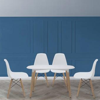 ชุดโต๊ะอาหาร รุ่น Lasta สีขาว2