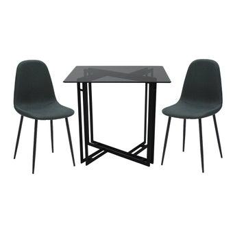 ชุดโต๊ะอาหาร รุ่น Vitola สีดำ2