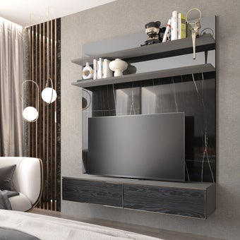 ชุดวางทีวี ขนาด 180 ซม. รุ่น Infinity 02