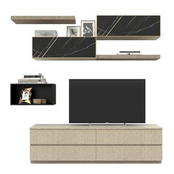 ชุดวางทีวี ขนาด 210 ซม. รุ่น Infinity-01