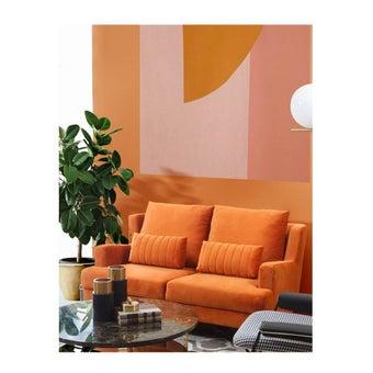 โซฟา รุ่น Lawanna สีส้ม-01
