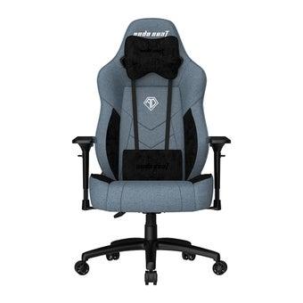 เก้าอี้เล่นเกม AndaSeat  T-Compact Premium Gaming Chair Blue เก้าอี้ทำงาน เก้าอี้เพื่อสุขภาพ สีฟ้า