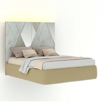 เตียงนอน ขนาด 5 ฟุต รุ่น Arbalone (LED)-01