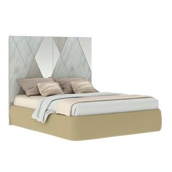 เตียงนอน ขนาด 5 ฟุต รุ่น Arbalone (No LED)