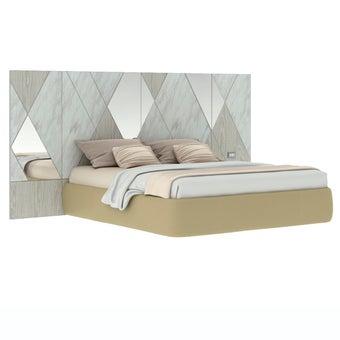 เตียงนอน ขนาด 6 ฟุต รุ่น Arbalone (No LED)