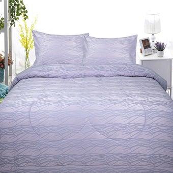 Slumberland ผ้าปูที่นอนพร้อมผ้านวม Cotton รุ่น Catherina ขนาด 5 ฟุต