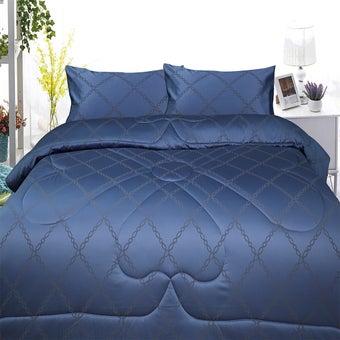 Slumberland ผ้าปูที่นอนพร้อมผ้านวม Cotton รุ่น Challotte ขนาด 3.5 ฟุต