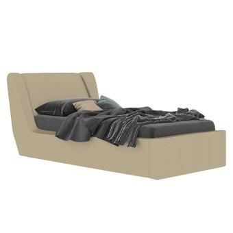 เตียงนอน ขนาด 3.5 ฟุต รุ่น Cira สีทองมุก-01