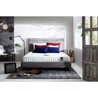 ที่นอน ฟูก ที่นอนสปริง สีขาว Dunlopillo : SB Design Square