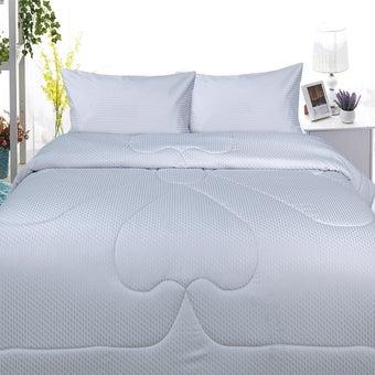 Slumberland ผ้าปูที่นอนพร้อมผ้านวม Cotton รุ่น Elizabeth ขนาด 5 ฟุต