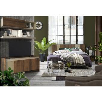 ชุดห้องนอน Estano + ชุดวางทีวี Infinity-01