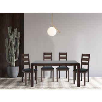 โต๊ะทานอาหาร รุ่น Everly สีสีน้ำตาล-SB Design Square