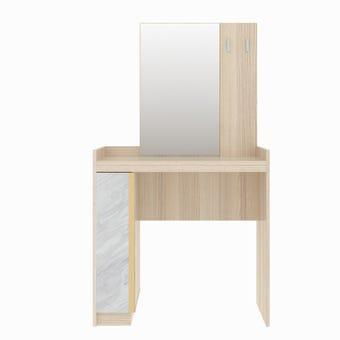ชุดห้องนอน โต๊ะเครื่องแป้งแบบนั่ง รุ่น Marmurus สีสีโอ๊คอ่อน-SB Design Square