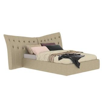เตียงนอน ขนาด 5 ฟุต รุ่น Opera สีทองมุก-01