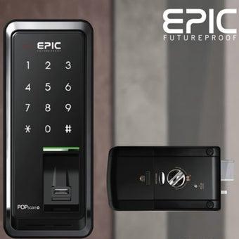 กลอนประตูดิจิตอล Digital Door Lock รุ่น POPScan-03