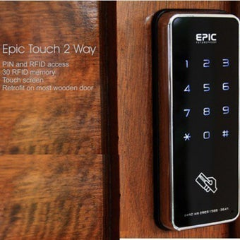 กลอนประตูดิจิตอล Digital Door Lock รุ่น Touch 2 ways-04