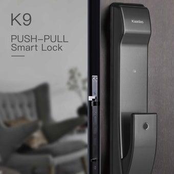 กลอนประตูอัตโนมัติ Digital Door Lock Kaadas K-9 Black-03