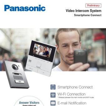 Video Door Phone กริ่งบ้านแบบเห็นหน้าได้ รุ่น Panasonic VL-SVN511-02