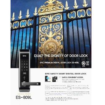 กลอนประตูดิจิตอล Digital Door Lock รุ่น EPIC ES-809L-03