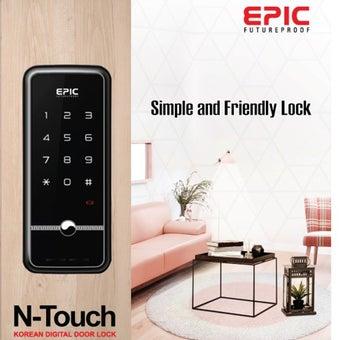 กลอนประตูดิจิตอล Digital Door Lock รุ่น EPIC N-touch-03