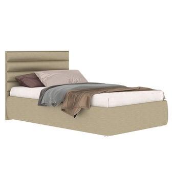 เตียงนอน ขนาด 3.5 ฟุต รุ่น Rufina-s สีทองมุก-01