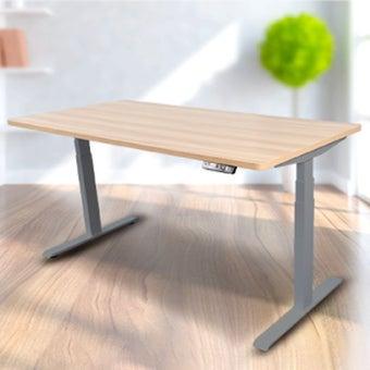 Bewell โต๊ะทำงานปรับระดับอัตโนมัติ GY160-OAK  ขนาด 160 ซม. สีโอ๊ค
