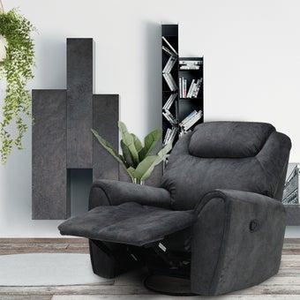 เก้าอี้พักผ่อน ขนาดเล็กกว่า 1.8 ม. รุ่น Zuberka สีเทา-01