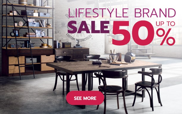 LIFESTYLE BRAND Sale up to 50%